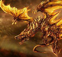 The Elder Scroll Online V Skyrim Dragon fire by MrNuTruT