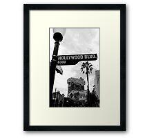 Hollywood Tower of Terror Framed Print