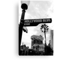 Hollywood Tower of Terror Canvas Print