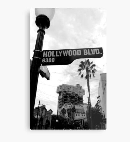 Hollywood Tower of Terror Metal Print