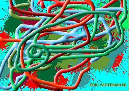 (BAG LADY) ERIC WHITEMAN  ART  by ericwhiteman