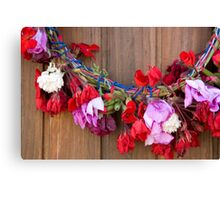 May Wreath Canvas Print