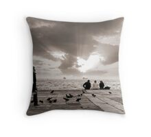 In her thoughts #2 Throw Pillow