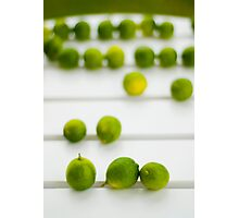 Lime Green Photographic Print