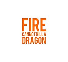 fire cannot kill a dragon by OnyxMayMay
