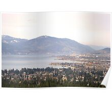 Kelowna Lake Shore Poster