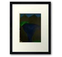 mystery of the nature Framed Print