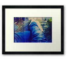 007023 Framed Print