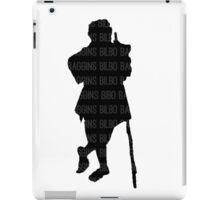 Bilbo Baggins and His Silhouette iPad Case/Skin
