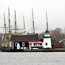 Mystic Seaport Ct. USA by Kate Adams