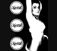 sexy becks (karm art gal) Womens Fitted T-Shirt