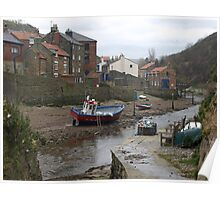 Staithes - North Yorkshire Poster