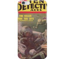 Ten Detective Aces - January 1945 iPhone Case/Skin