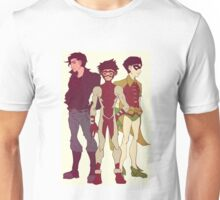 Impulse, Superboy and Robin Unisex T-Shirt