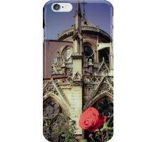 Notre Gothic Rose de Paris  iPhone Case/Skin