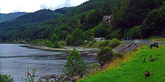 Loch Earn by Tom Gomez