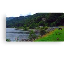Loch Earn Canvas Print