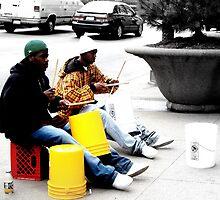 Street Drums by Atreju Hood