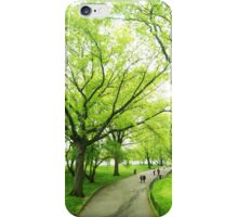 Lush Trees in Central Park NYC iPhone Case/Skin