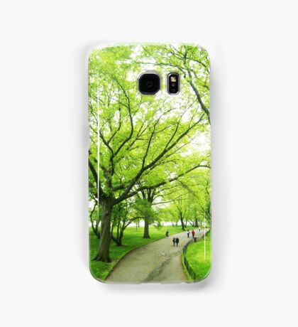 Lush Trees in Central Park NYC Samsung Galaxy Case/Skin