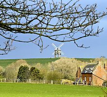 The mill from Chesterton. by Steve plowman