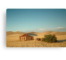 Deserted Farmhouse, Burra, South Australia Canvas Print