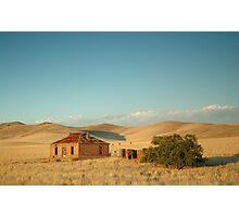 Deserted Farmhouse, Burra, South Australia Photographic Print