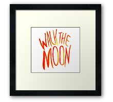 Walk The Moon Framed Print