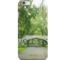 Cookie-Cutter Bridge NYC from Far Away iPhone Case/Skin