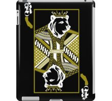 King Of Cali (White and Gold) iPad Case/Skin