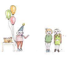 Birthday Party by Sian Song Haldane
