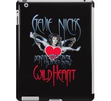Stevie Nicks - Don't Blame Me, Blame It On My Wild Heart iPad Case/Skin