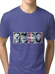 Animal Collective Tri-blend T-Shirt