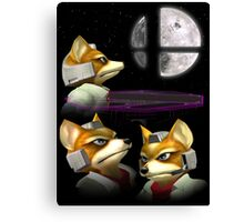 20XX: Three Fox Moon Canvas Print