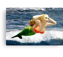 Mermaid ~ Feeling Free   Metal Print