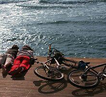 Romantic bikers by JudyBJ