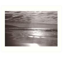 Anglesea Beach Art Print