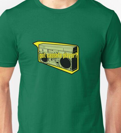 GOT CASETTE PLAYER Unisex T-Shirt