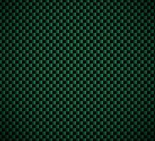 Green Carbon Fibre iPhone / Samsung Galaxy Case by Tucoshoppe