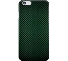 Green Carbon Fibre iPhone / Samsung Galaxy Case iPhone Case/Skin