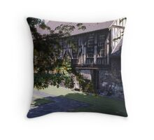 Merchant Adventurers Hall Throw Pillow