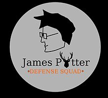 James Potter Defense Squad- Black background Option by GeekyToGo