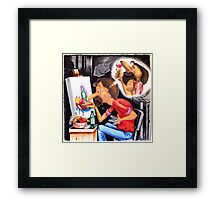 the Starving Artist Framed Print