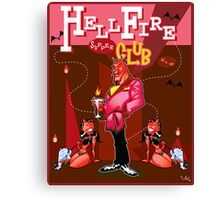 HellFire Supper Club Canvas Print