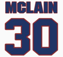 National baseball player Denny McLain jersey 30 by imsport