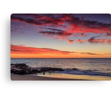 Sunset Tuesday Canvas Print