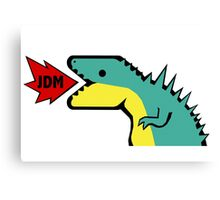 JDM Dino Canvas Print