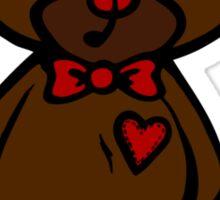 Val the Valentine's Bear Sticker