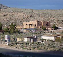 Desert Mansion (Digital) by Snoboardnlife