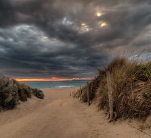 Sunset B'lvd by John Pitman